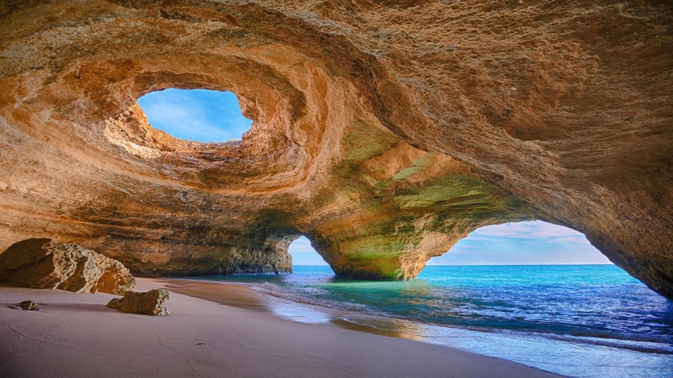 Hang động Algarve, Bồ Đào Nha