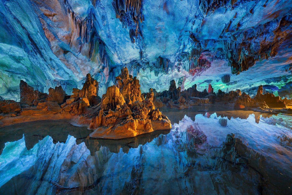Hang động Reed Flute thuộc tỉnh Quảng Tây, Trung Quốc