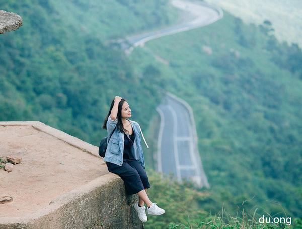 Trên đỉnh đèo Hải Vân