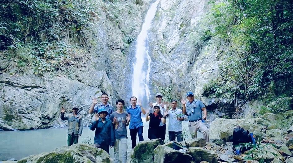 Thác Chapos - điểm đến hấp dẫn tại Vườn quốc gia Phước Bình (Ninh Thuận)