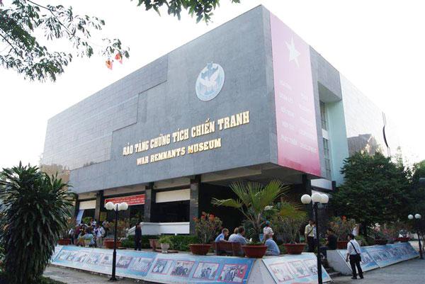 Bảo tàng Chứng tích chiến tranh ở TP. Hồ Chí Minh